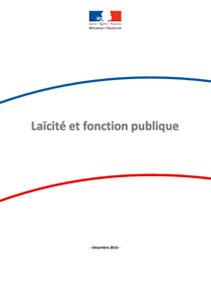 Rapport de la commission « Laïcité et Fonction publique »