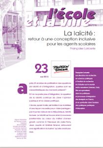 Laïcité : retour à une conception inclusive pour les agents scolaires - Françoise Lorcerie - Profession Banlieues